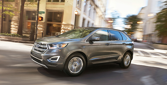 Powerful, Intelligent, Safe - Ford Edge - S007 - Front Wheel Drive