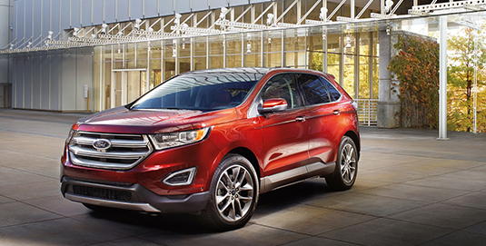Powerful, Intelligent, Safe - Ford Edge - SEL17 - All Wheel Drive
