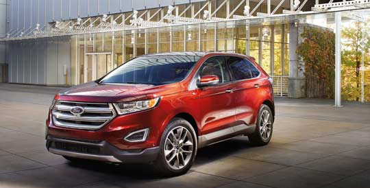 Brand  New Ford Edge Titanium