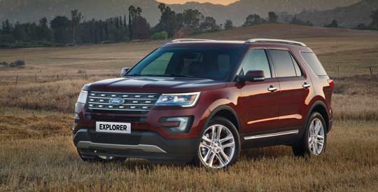 Brand New Ford Explorer E317 4x4