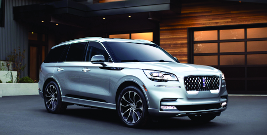 The New Lincoln Aviator